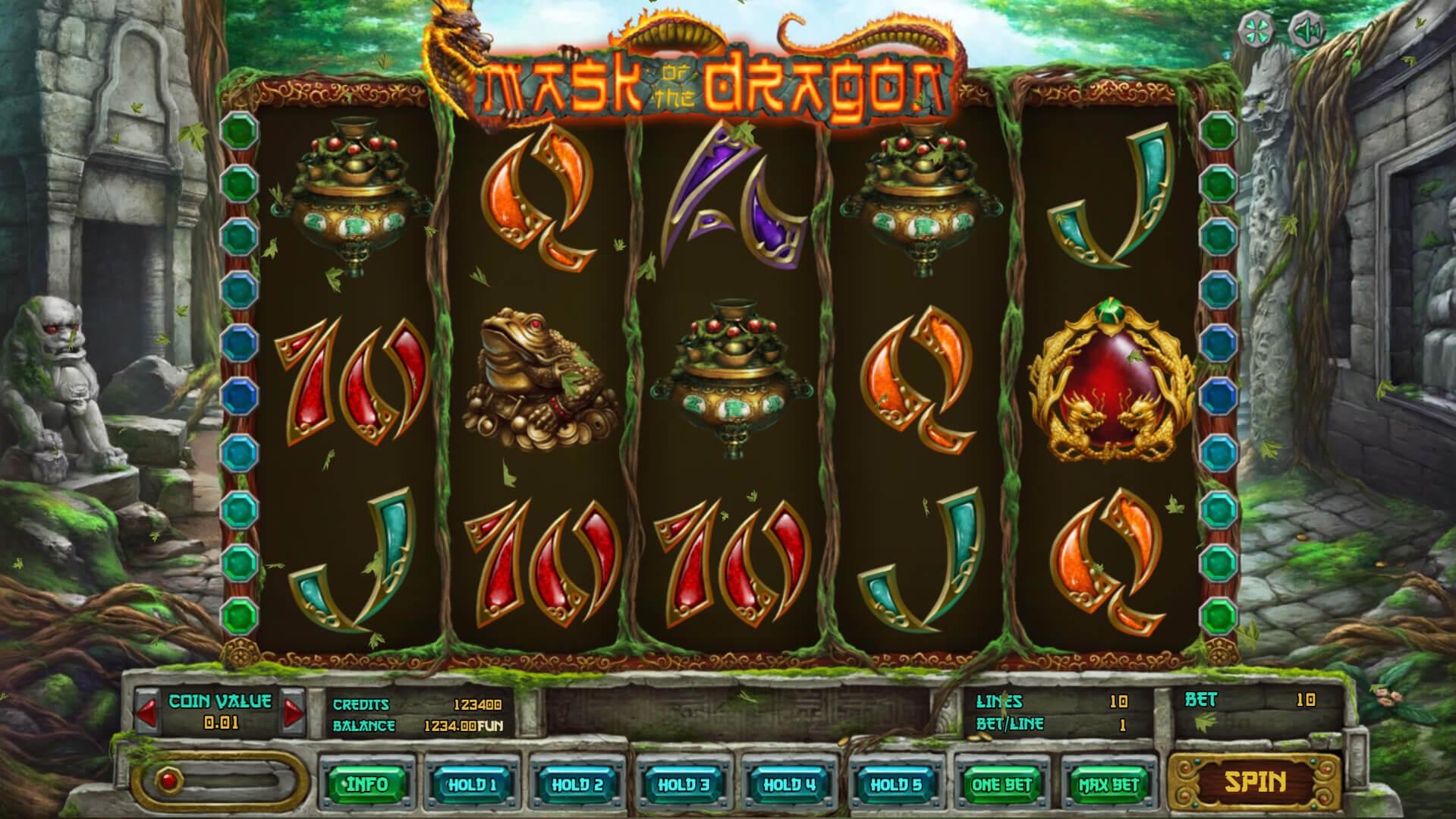 Изображение игрового автомата Mask of The Dragon 1