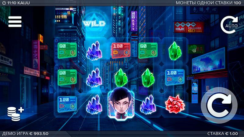 Изображение игрового автомата Kaiju 1