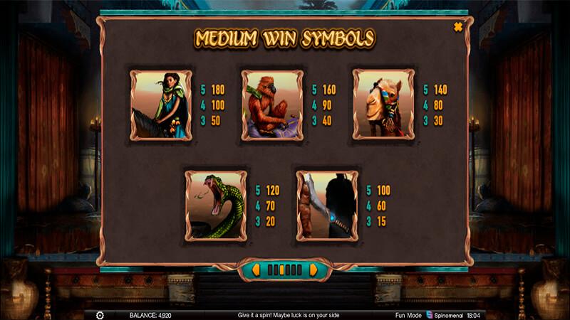 Изображение игрового автомата Nights Of Fortune 3