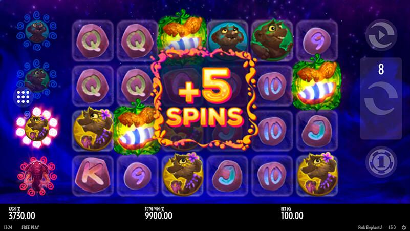 Изображение игрового автомата Pink Elephants 1