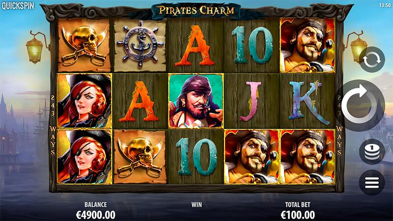 Изображение игрового автомата Pirate's Charm 1