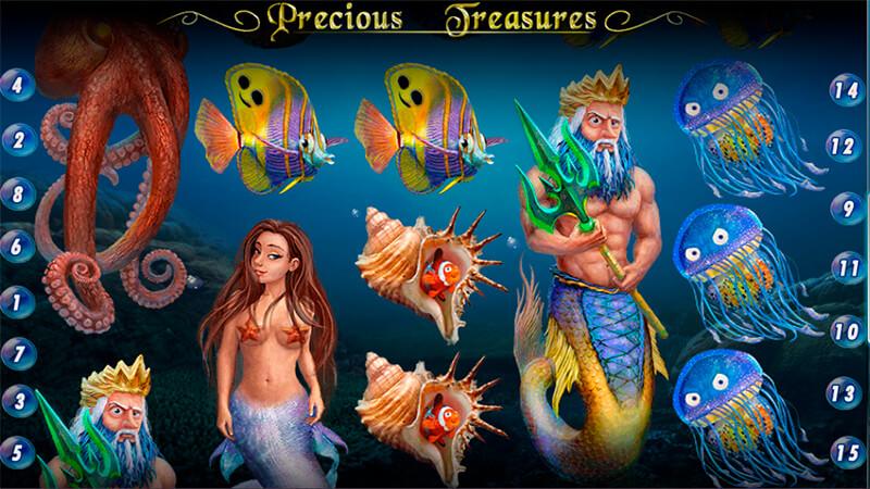Изображение игрового автомата Precious Treasures 1