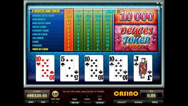 Изображение игрового автомата Deuces and Joker Poker 2