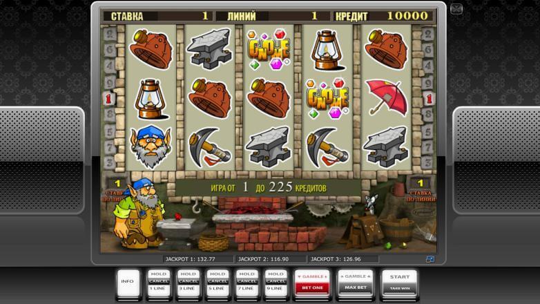 Изображение игрового автомата Gnome 2