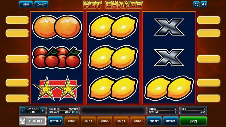 Изображение игрового автомата Hot Chance 2