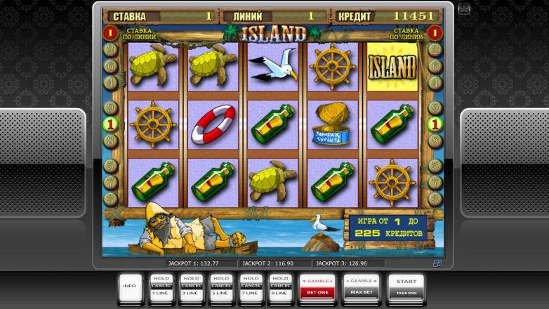 Изображение игрового автомата Island 2