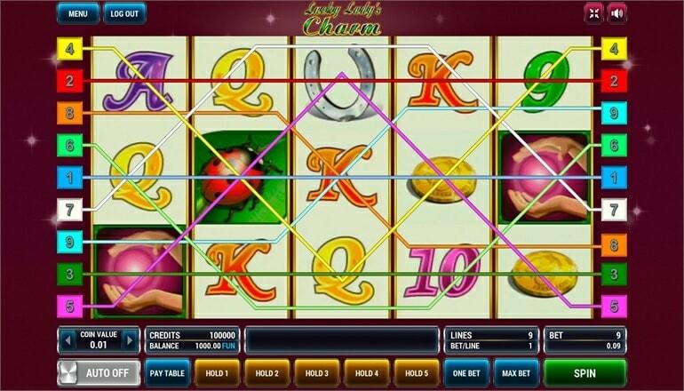 Изображение игрового автомата Lucky Lady's Charm 1